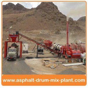 Asphalt Drum Mixing Plant India