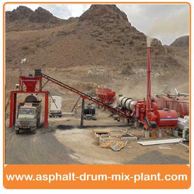Asphalt Drum Mixing Plant India