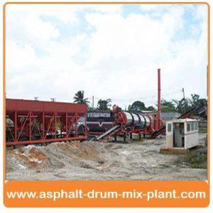 mobile asphalt batch mix plant India
