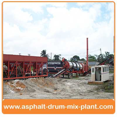 mobile asphalt batch mix plant India