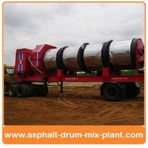 Mobile Asphalt Drum Mix Plants